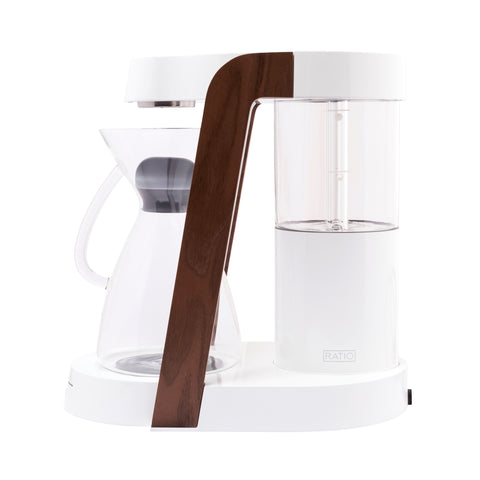 Ratio Eight Coffee Maker White Walnut by Filter - Product Image