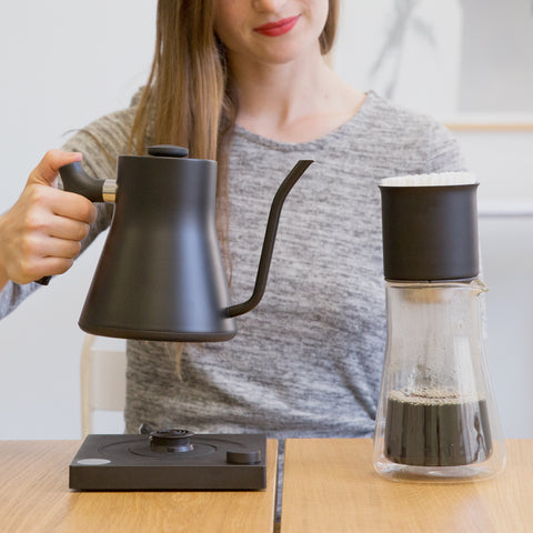 Fellow Stagg EKG with carafe from Filter - Lifestyle Image