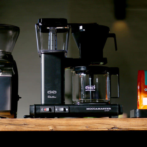 Technivorm Moccamaster KBG Black Brewer from Filter - Lifestyle Image
