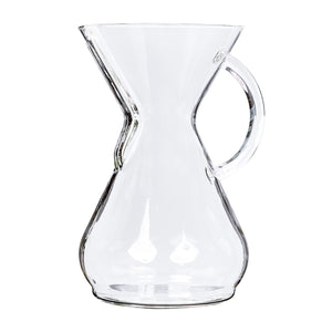 Chemex Eight Cup Glass Handle Coffee Maker from Filter - Product Image