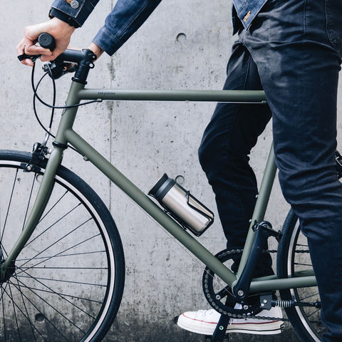 Kinto Travel Tumbler bike from Filter - Lifestyle Image