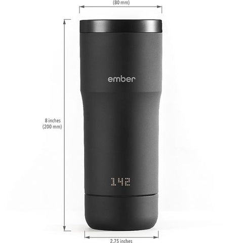 Ember Travel Mug dimensions from Filter - Product Image