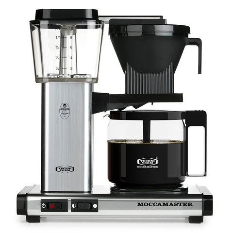 Technivorm Moccamaster KBG Silver Brewer from Filter - Product Image
