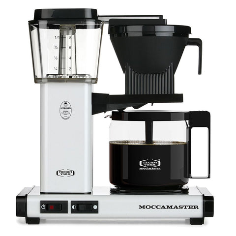 Technivorm Moccamaster KBG White Brewer from Filter - Product Image