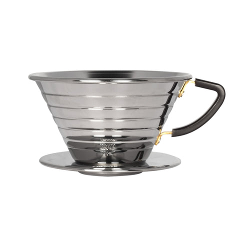 Kalita Wave Stainless Steel Dripper from Filter - Product Image