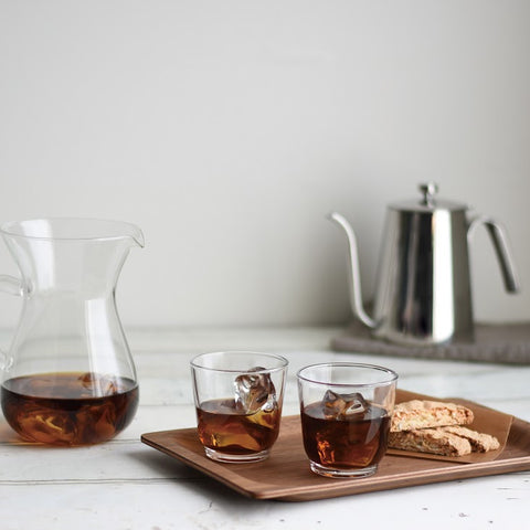 Kinto SCS Non-Slip Tray tea from Filter - Lifestyle Image