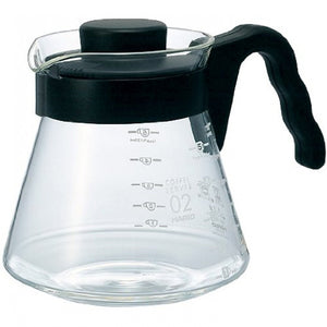 Hario v60 Glass Coffee Server 600 from Filter - Product Image