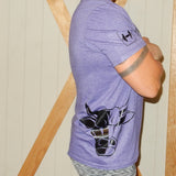 Logo tee - Purple