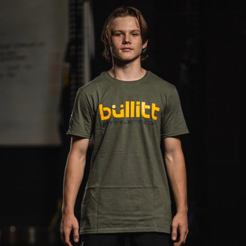 Bullitt Athletica Tee - Green/Yellow