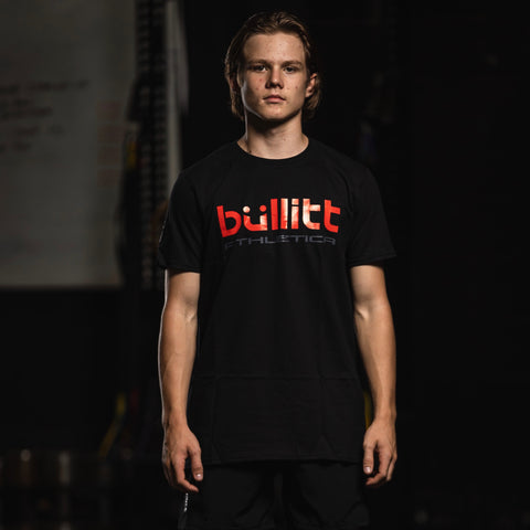 Bullitt Athletica Tee - Black/Red