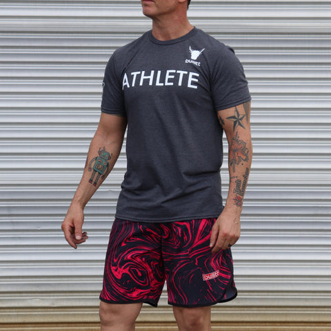 Athlete Tee - Grey