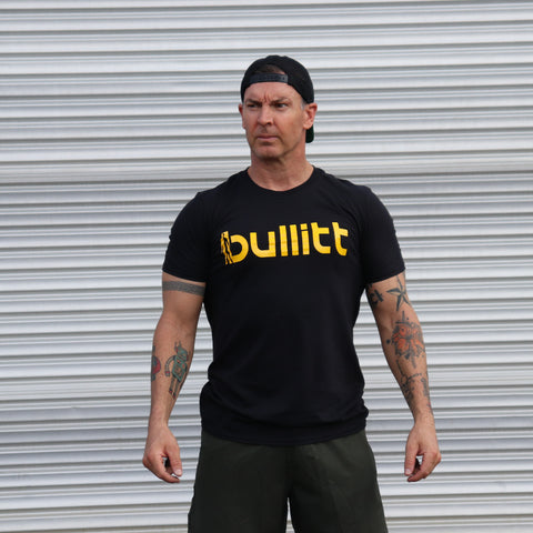 Bullitt Tee - Black/Yellow