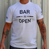 Bar is Open Tee - White