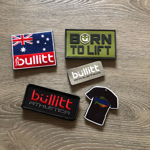 Various patches for weight vests