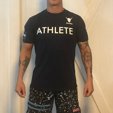 Athlete Tee - Navy
