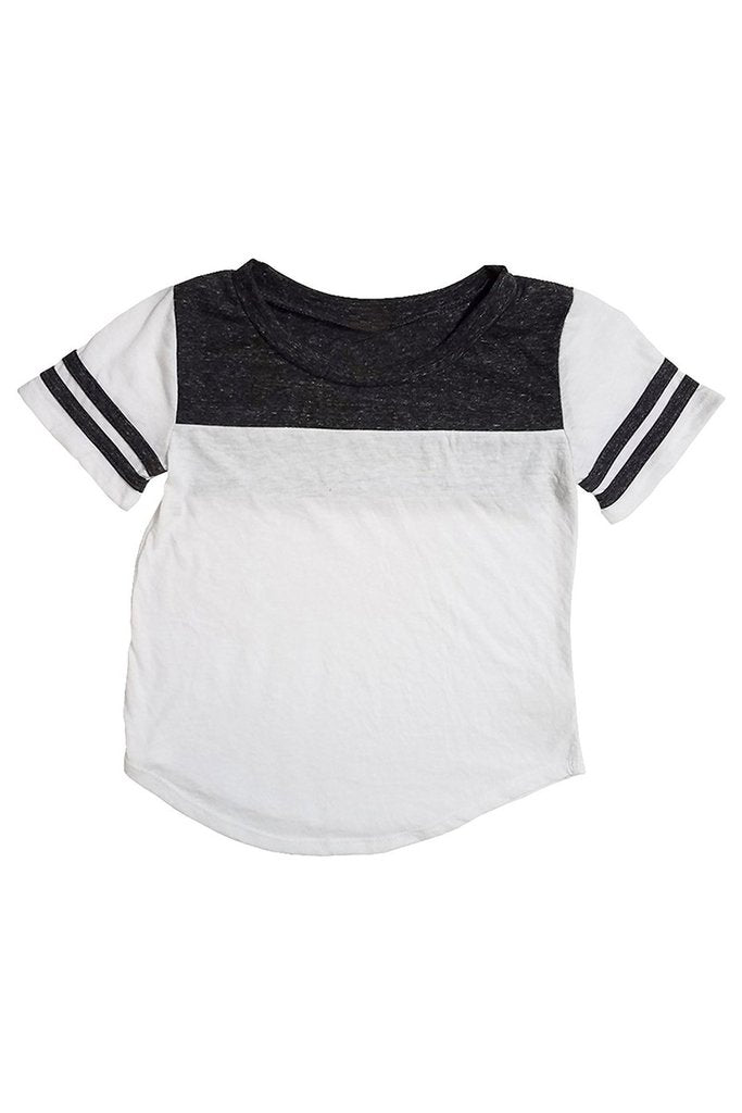 Kids Triblend 2 Line 2 Color Tee