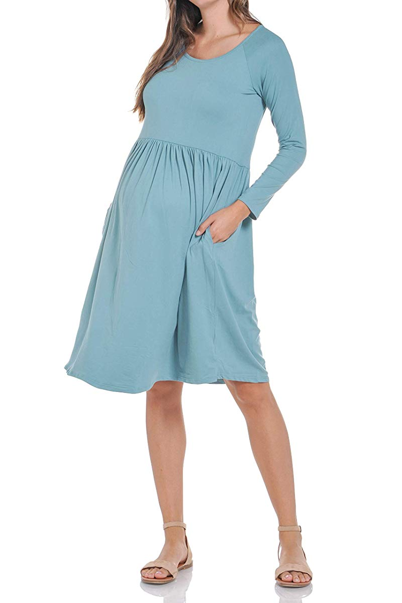 Maternity Loose Fit Dress