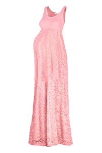 Maxi Sleeveless Lace Dress
