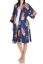Flower Printed Robe for Delivery/Nursing