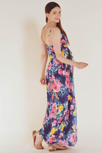 Sweetheart Tropical Printed Party Maxi Dress