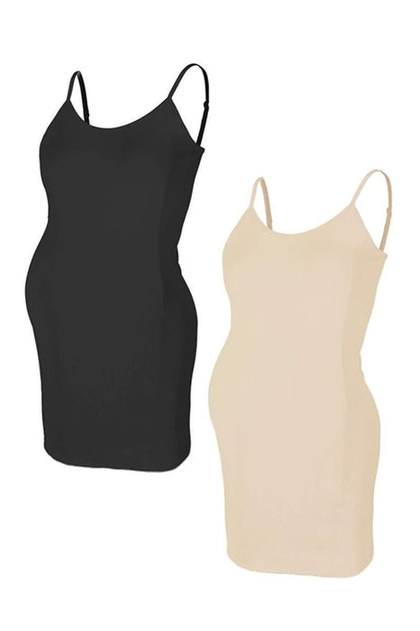 Comfortable Seamless Camisole Slip Dress - BEACHCOCO