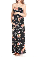 Flower Maxi Tube Dress - BEACHCOCO