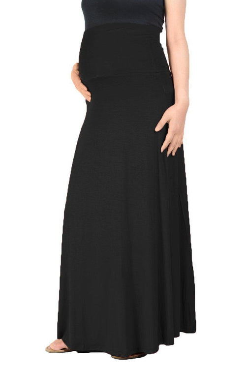 Fold Over Maxi Skirt - BEACHCOCO