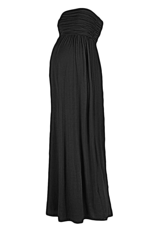 Plus Size Comfortable Maxi Tube Dress