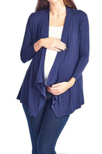 Plus Size Open Front Cardigan - BEACHCOCO