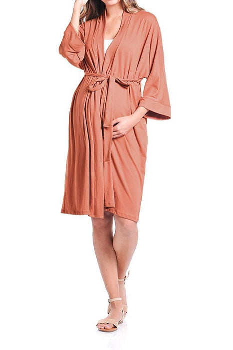 Robe for Delivery/Nursing - BEACHCOCO