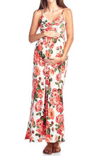 Sweetheart Party Flower Printed Maxi Dress - BEACHCOCO