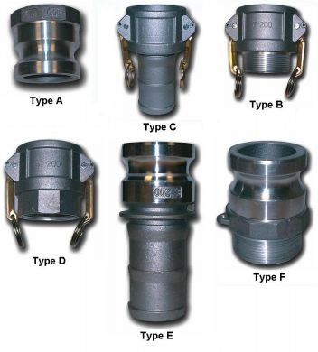DIXON CAM LOCK FITTINGS