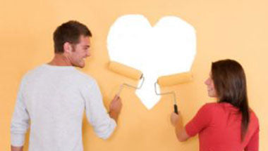 Four interior decorating tasks that must be done with your partner