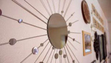 How to add bling to your home with mirrors