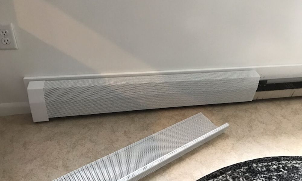 Tips on Changing Baseboard Heater Covers