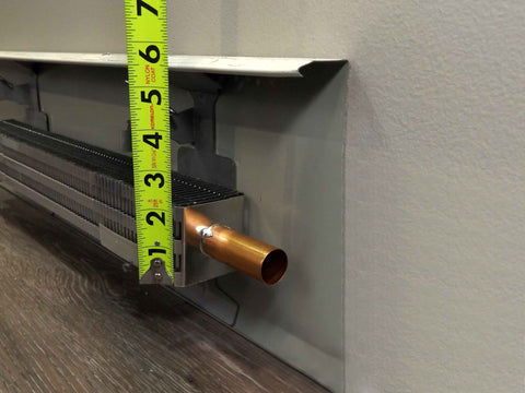 Fin Tube Height | EZ Snap™ Baseboard Heater Covers