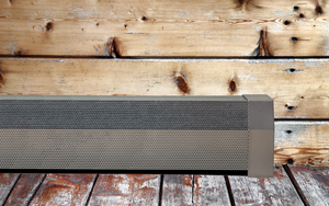 EZ Snap Baseboard Radiator Covers Galvanized Steel Wood