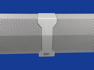 Standard White Italian Pillar Solid Coupler