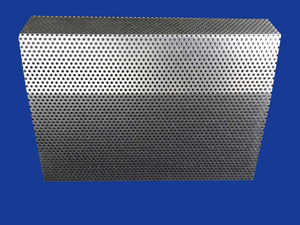 EZ Snap Baseboard Heater Cover Standard Galvanized 1' Length Panel