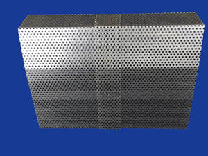 1 Tall Galvanized Mesh Coupler