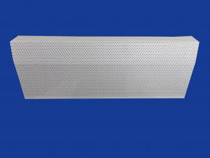 EZ Snap Baseboard Heater Cover Standard White 1' Length Panel