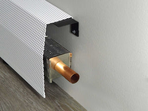 EZ Snap Baseboard Heater Cover Universal Bracket Wall Widget Bracket
