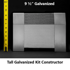 Tall Galvanized Kit Constructor