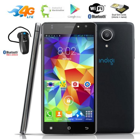 Indigi® NEW 4G LTE AT Unlocked Android 6.0 SmartPhone +