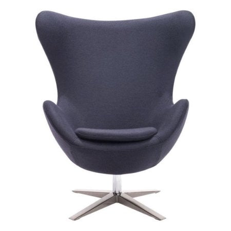 Brika Home Armchair in Iron Gray