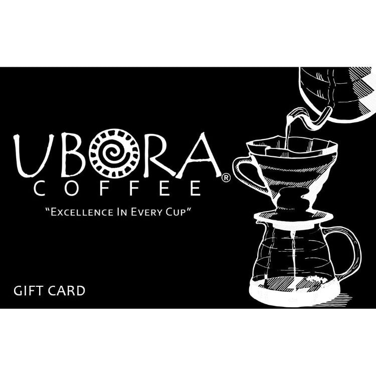 Gift Card (Online Use Only) - Ubora Coffee