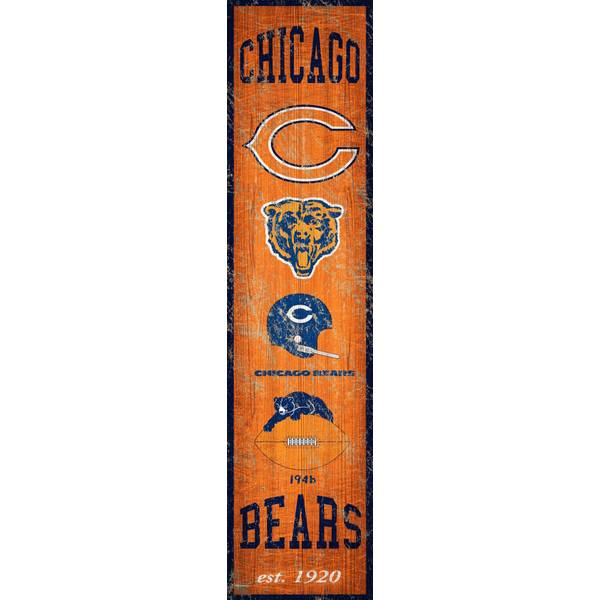 Fan Creations Chicago Bears Heritage Banner Sign