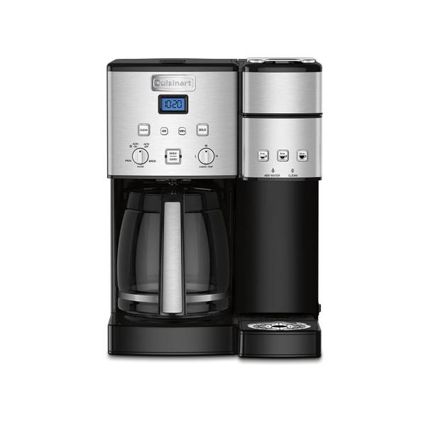 Cuisinart Coffee Center 12 Cup Coffee Maker And Single-Serve Brewer