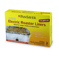 PanSaver Clear Electric Roaster Liner - 2 Pack