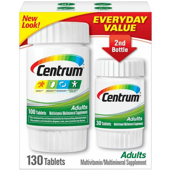 Centrum Adults Vitamin Supplement
